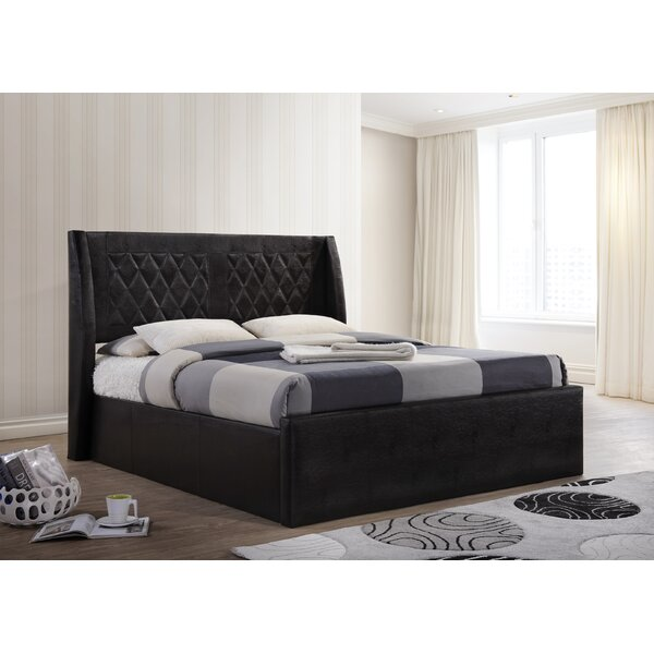 Brugge Queen Upholstered Platform Bed by House of Hampton