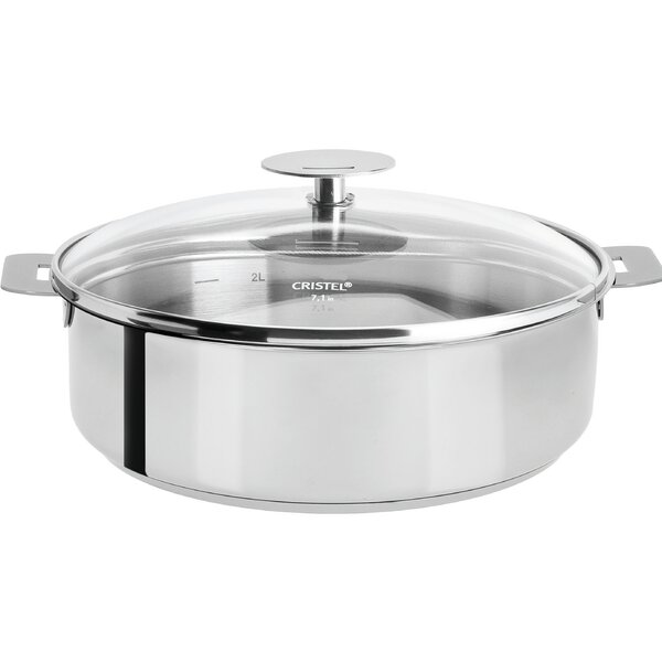 Mutine Saute Pan with Lid by Cristel