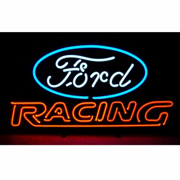 Ford Racing Neon Sign by Neonetics