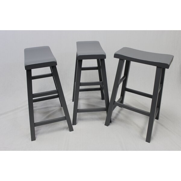 Cloughmills 24 Bar Stool (Set of 3) by Gracie Oaks