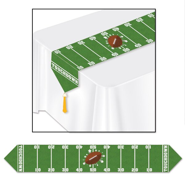Fraise Game Day Football Table Runner (Set of 3) by The Holiday Aisle