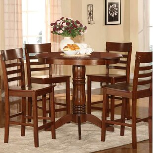 Millett 5 Piece Counter Height Dining Set