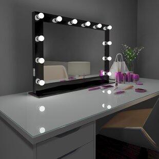 Best Reviews Tarek Vanity Makeup/Shaving Mirror ByEverly Quinn