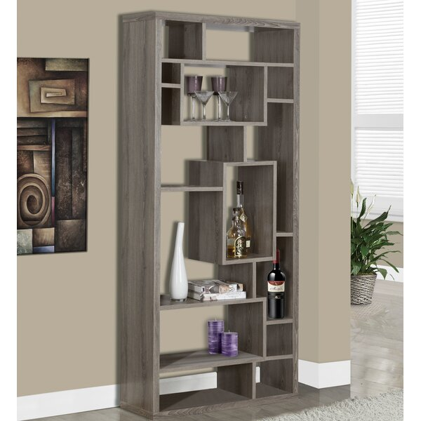 Geometric Bookcase by Monarch Specialties Inc.