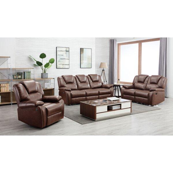 Izidora 3 Piece Reclining Living Room Set by Latitude Run