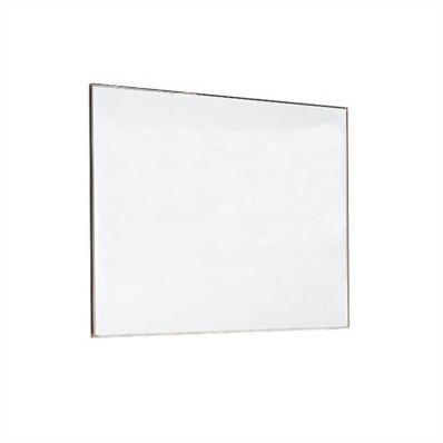 Tactics Plus® Porcelain Panel Writing Wall Mounted Magnetic Whiteboard by Peter Pepper
