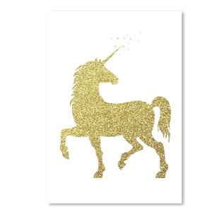 'Unicorn' Graphic Art Print by East Urban Home