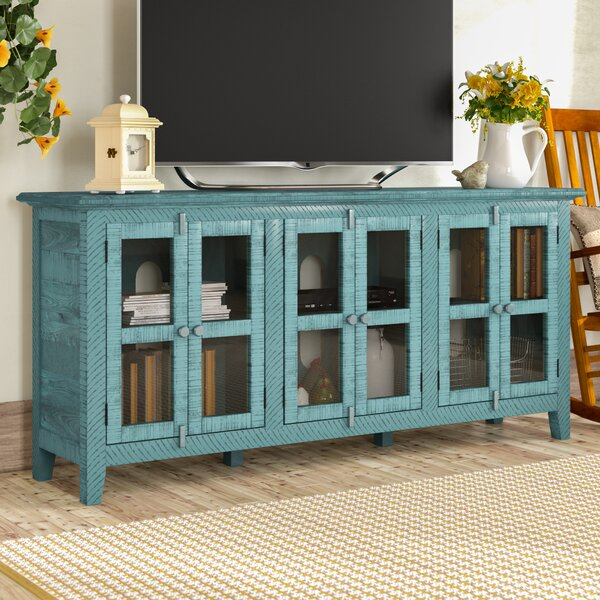 Geers Solid Wood TV Stand For TVs Up To 70