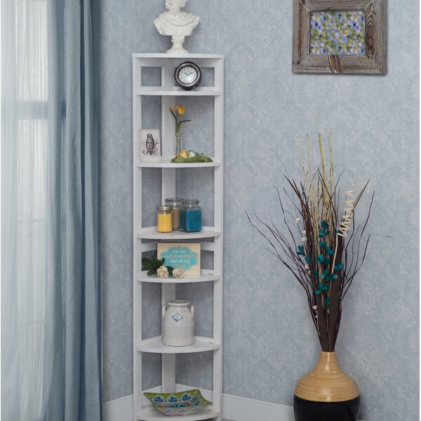 Flip Flop Folding Corner Unit Bookcase by Regency