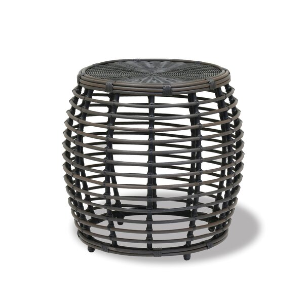 Venice Round Wicker Side Table by Sunset West