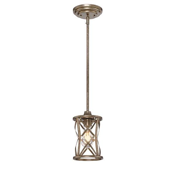 Tokai 1-Light Cylinder Pendant by Mercury Row