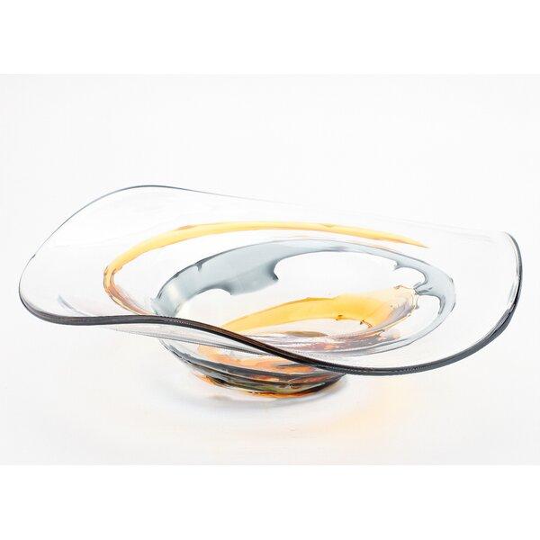 15.5 Plate by Diamond Star Glass