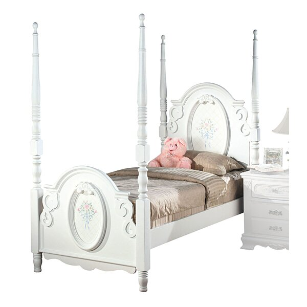 Eslinger Four Poster Bed by Harriet Bee
