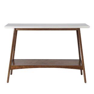 Superb Modern Console Sofa Tables Allmodern Theyellowbook Wood Chair Design Ideas Theyellowbookinfo
