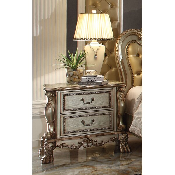 Perales 2 Drawer Nightstand by Astoria Grand
