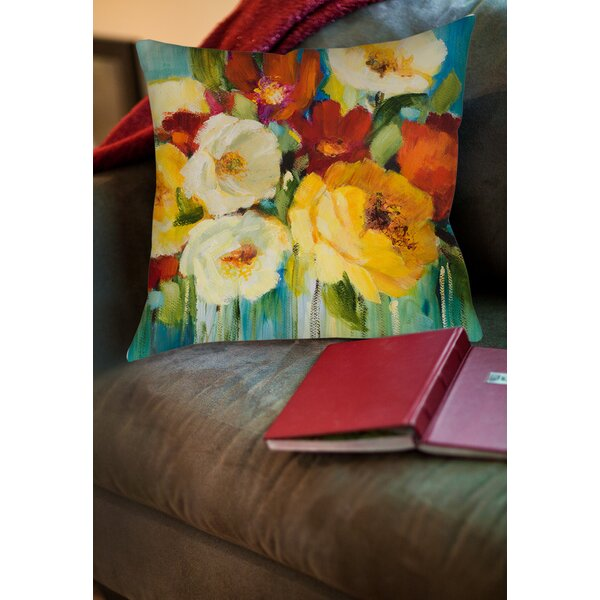 Marya 1 Printed Throw Pillow by Red Barrel Studio