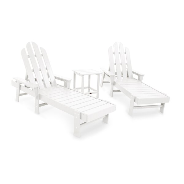 Long Island 3 Piece Seating Group by POLYWOOD®