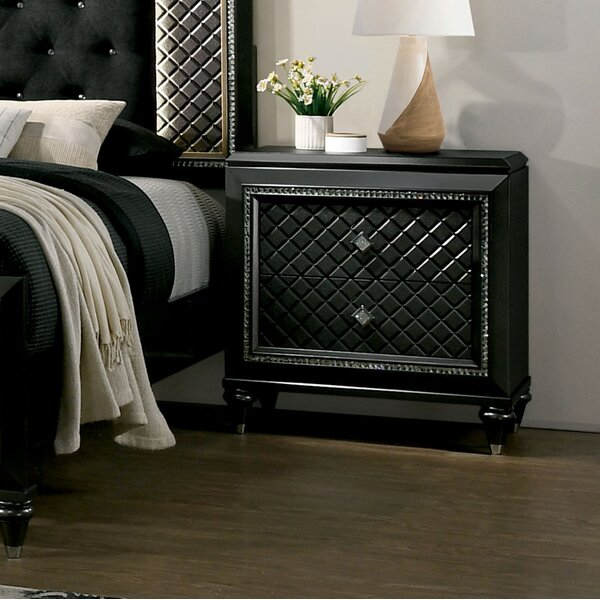 Pilton 2 Drawer Nightstand by Everly Quinn