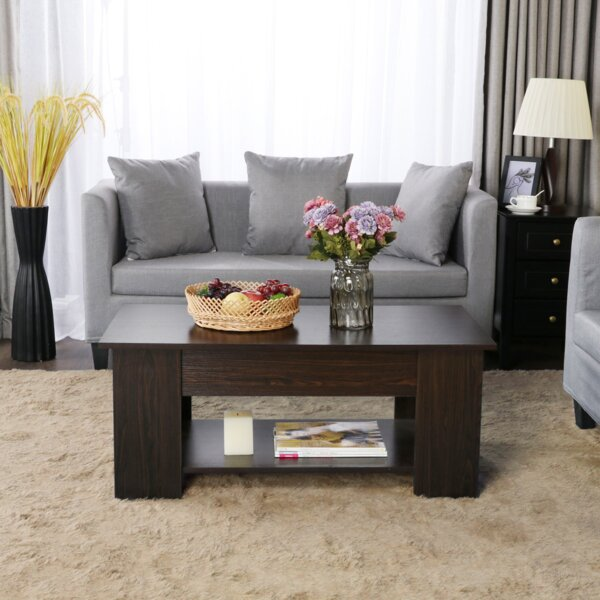 Hardie Coffee Table With Storage By Orren Ellis