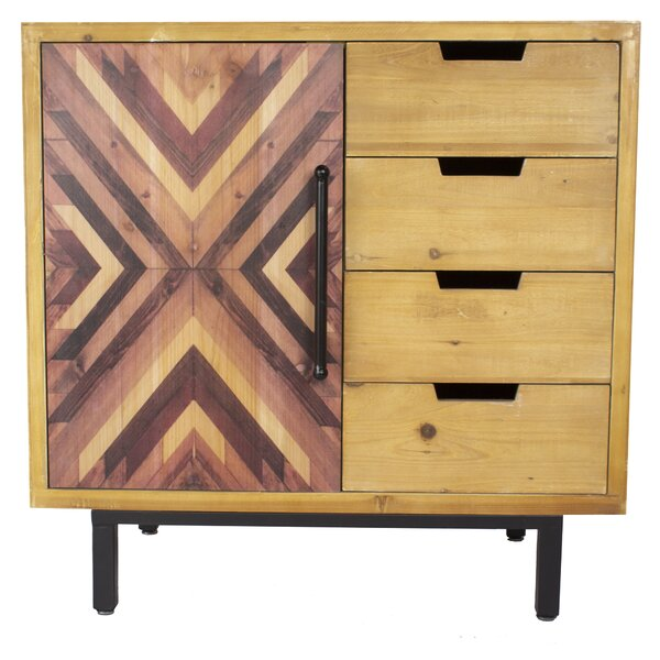Beckmann 4 Drawer Accent Chest By Millwood Pines