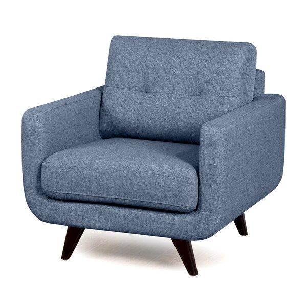 Jarrow Mid-Modern Century Armchair by Orren Ellis Orren Ellis