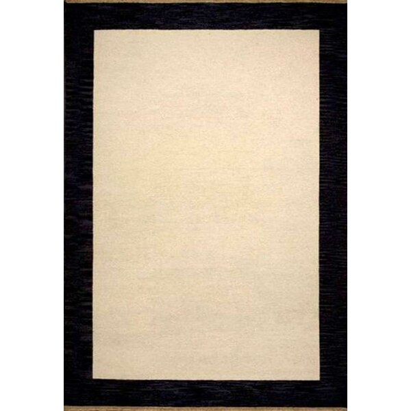 Henley Hand-Tufted Cardinal Black Area Rug by Wildon Home ®