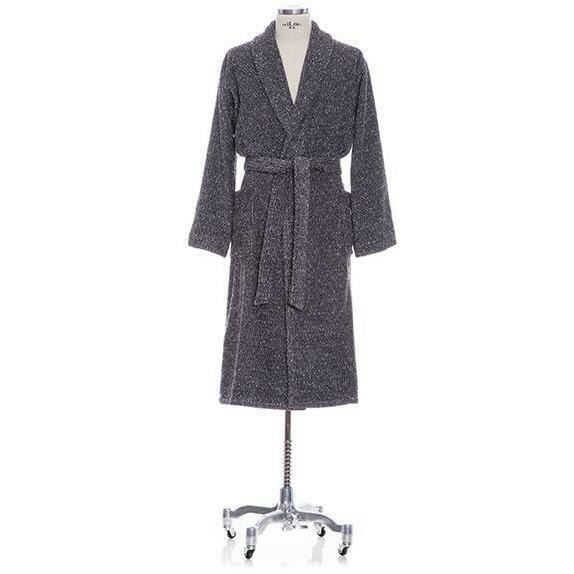 Chism Shawl Collar Melange Cotton Blend Bathrobe by Gracie Oaks