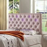 Barbieri Contemporary Upholstered Panel Headboard by Wrought Studio™