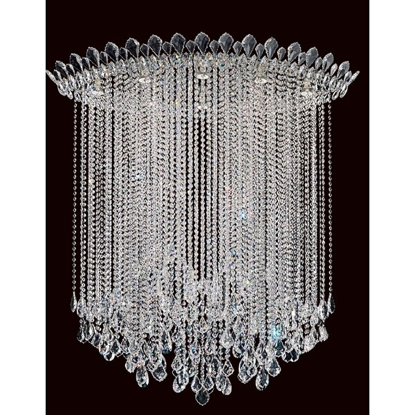 Trilliane 8-Light Flush Mount by Schonbek