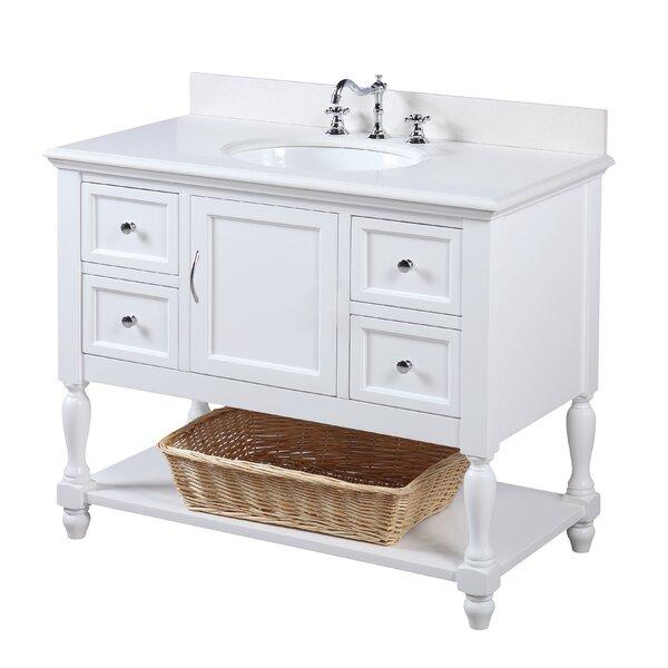 Beverly 42 Single Bathroom Vanity Set by Kitchen B