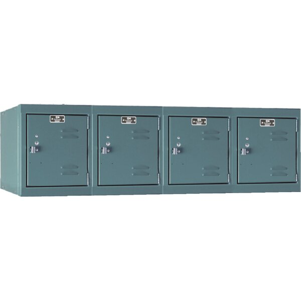 Premium 1 Tier 4 Wide Employee Locker by Hallowell