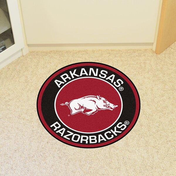 NCAA University of Arkansas Roundel Mat by FANMATS