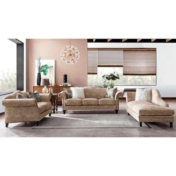 New Haven Mid Century Configurable Living Room Set by Fleur De Lis Living