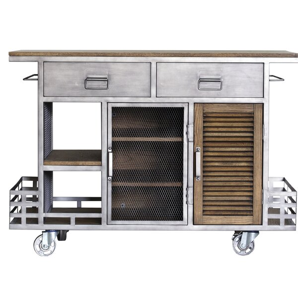 Zepeda Kitchen Island by Williston Forge