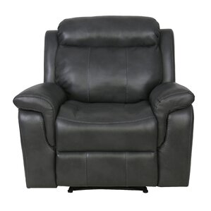 Hagues Manual Recliner by Alcott Hill