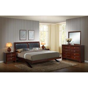 Plumcreek Panel 5 Piece Bedroom Set by Red Barrel Studio