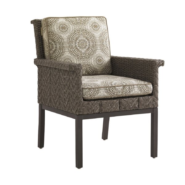 Olive Patio Dining Chair with Cushion
