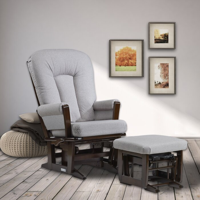 Fabulous Modern Glider And Ottoman Gmtry Best Dining Table And Chair Ideas Images Gmtryco