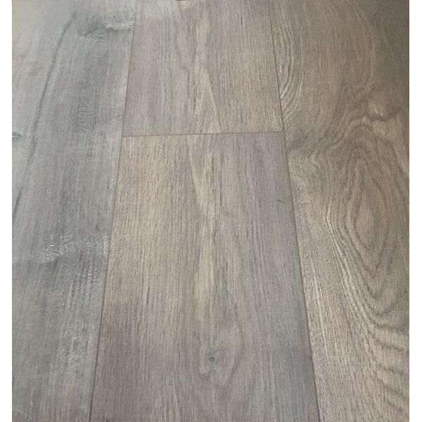 European Oak 8 x 49 x 12mm Laminate Flooring in Brown (Set of 4) by Christina & Son
