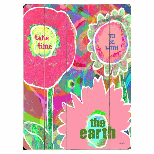 Take Time Graphic Art Print Multi-Piece Image on Wood by Artehouse LLC