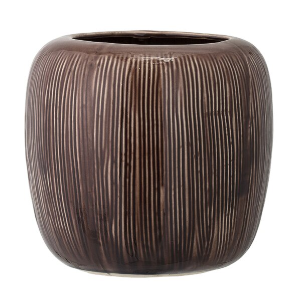 Barstow Stoneware Pot Planter by Bloomsbury Market