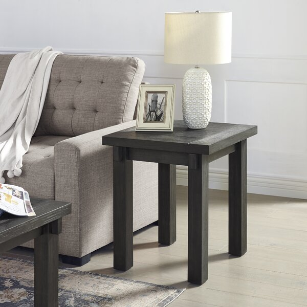 Lamartine End Table By Gracie Oaks