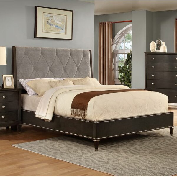 Dejuan Tufted Fabric Upholstered Standard Bed by Darby Home Co Darby Home Co