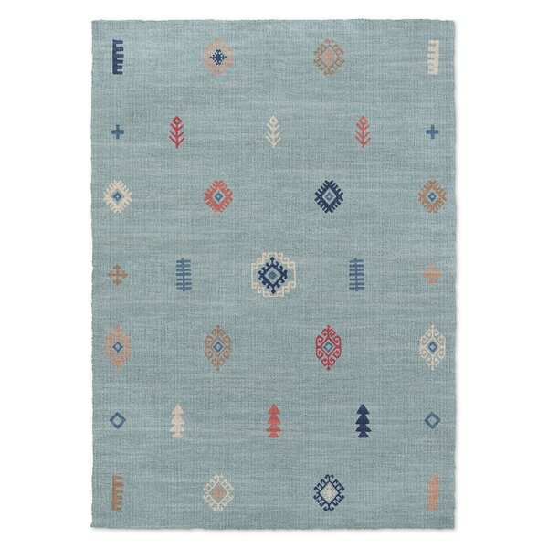 Calibishie Blue Area Rug by KAVKA DESIGNS