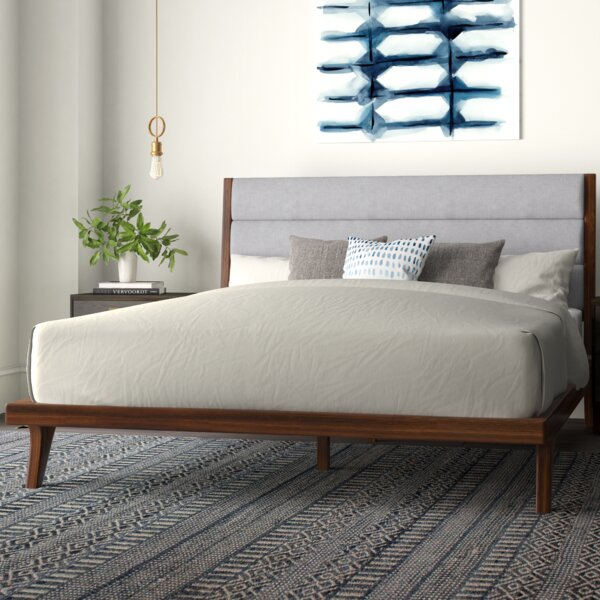 Wadhurst Upholstered Platform Bed by Corrigan Studio