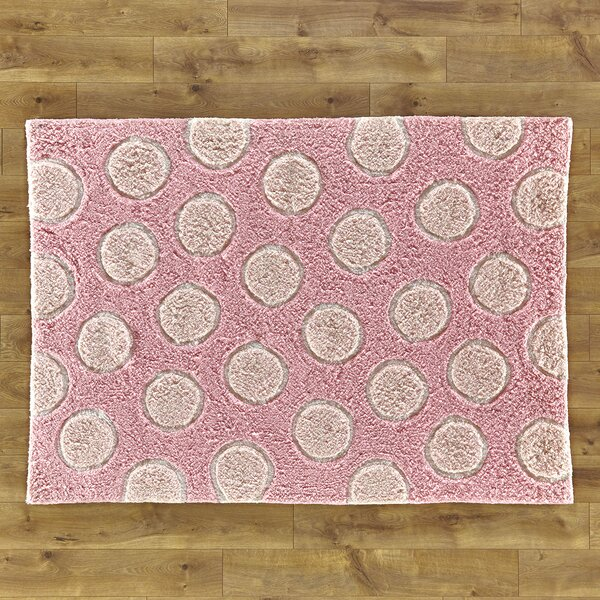 Lola Shag Hand-Woven Pink Area Rug by Birch Lane Kids™
