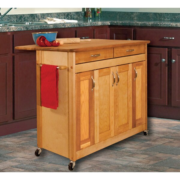 Kitchen Island With Wood Top By Catskill Craftsmen Inc Kitchen