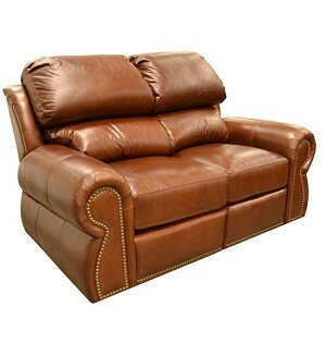 Cordova Leather Reclining Loveseat by Omnia Leather
