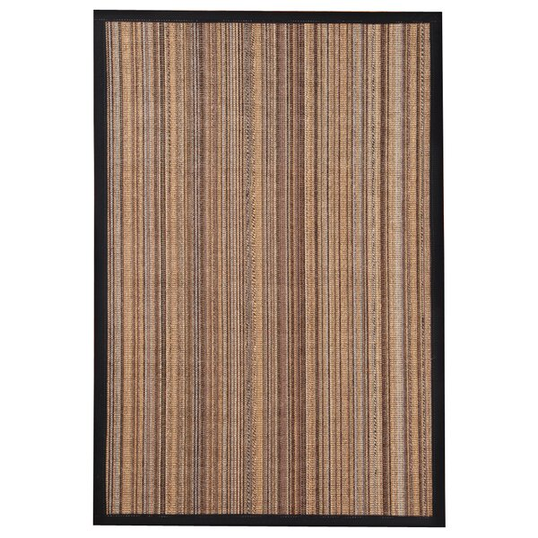 HandWoven Brown/Gray/Black Area Rug by The Conestoga Trading Co.