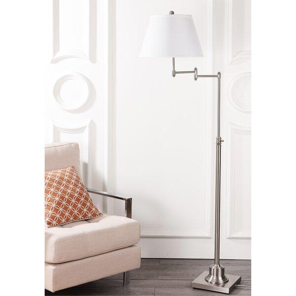 Parker Swivel 60 Swing Arm Floor Lamp by Safavieh